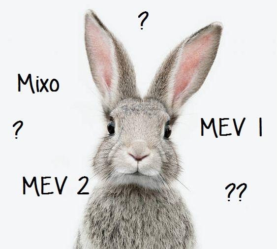 Mixo, MEV 1, MEV 2